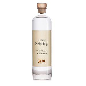 Kräuter Seitling Destillat Flasche